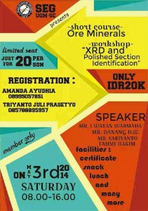 Course and Workshop - Ore, Polish, XRD
